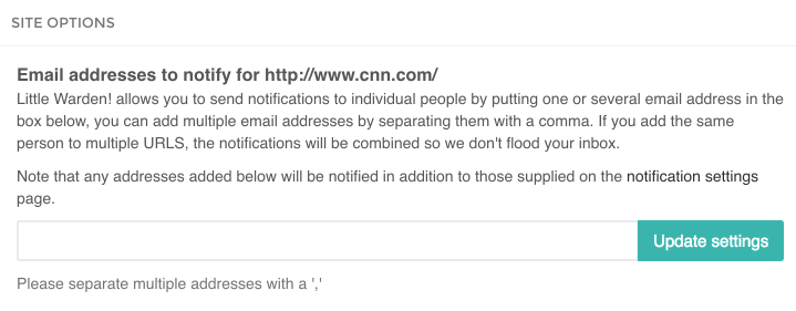 Send Notifications to Individuals!
